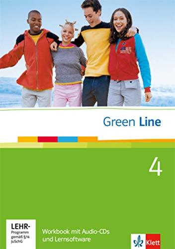 9783125471580: Green Line - Workbook 4 mit 2 Audio-CDs und Lernsoftware