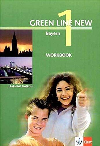 9783125472150: Green Line New 1. Workbook. Bayern: Gymnasium
