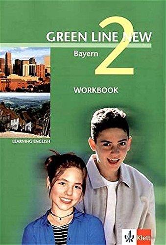 9783125472259: Green Line New 2. Workbook. Bayern: Gymnasium