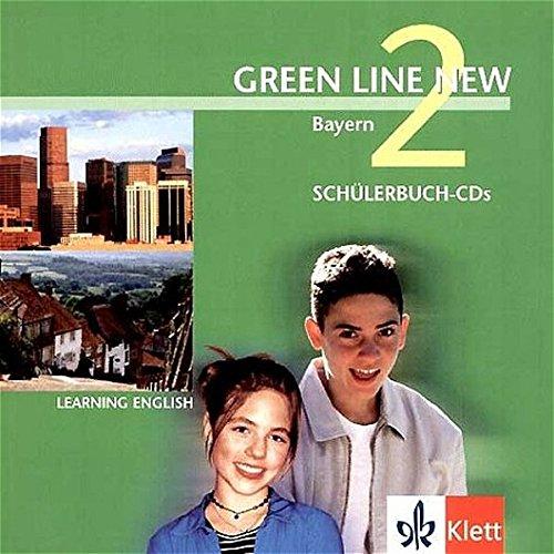 9783125472280: Green Line New 2. 2 CD zum Schülerbuch. Bayern