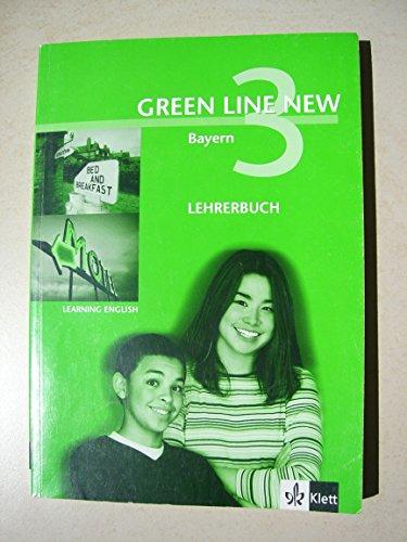 9783125472334: Green Line NEW Bayern, Begleitbuch für den Unterricht - Band 3: 7. Schuljahr
