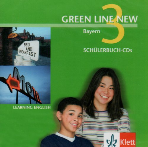 9783125472389: Green Line New 3. Audio CD. Bayern