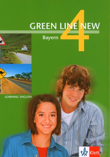 9783125472402: Green Line New 4. Schülerbuch. Bayern: Für Gymnasien