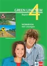 9783125472440: Green Line New Bayern 4 Workbook mit Lösungen 8.Klasse