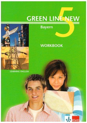 9783125472556: Green Line New 5. Workbook. Bayern: Gymnasium