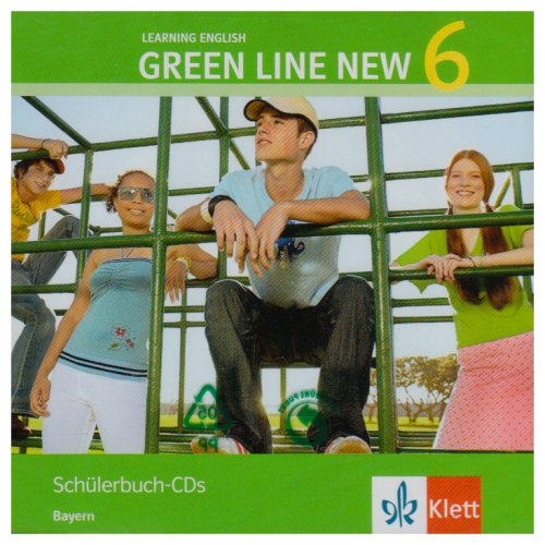 9783125472686: Green Line New 6. Audio CD. Bayern