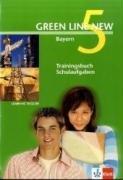 9783125472747: Green Line New 5. Trainingsbuch Schulaufgaben. Bayern: Gymnasium