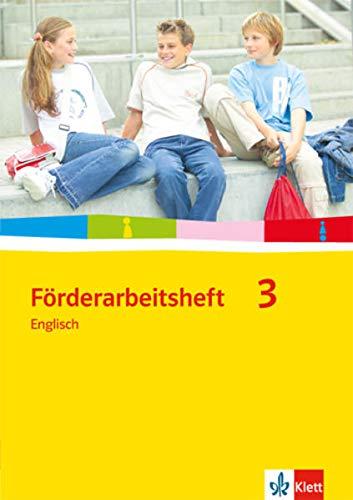 9783125472792: Förderarbeitsheft 3 - Englisch. Schülerausgabe