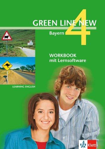 9783125472839: Green Line New 4. Workbook mit CD-ROM. Bayern: Teilversion der Lehrwerkbegleitenden Schülersoftware passend zu Green Line New 4 Bayern