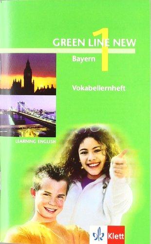 9783125472907: Green Line New 1. Vokabellernheft. Bayern
