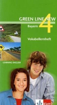 9783125472938: Green Line New 4. Vokabellernheft. Ausgabe Bayern