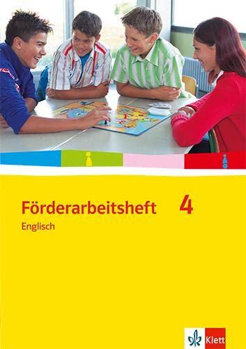 9783125472945: Förderarbeitsheft 4 - Englisch. Schülerausgabe