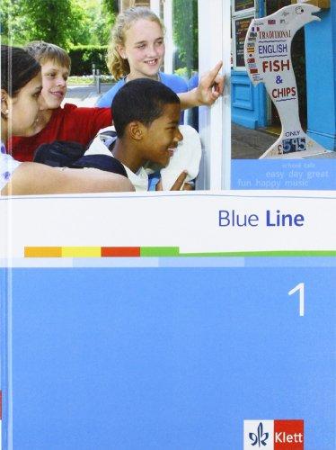 9783125474017: Blue Line 1. Schülerbuch. Oberschule. Niedersachsen