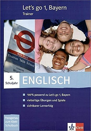 9783125474116: Let's go-Trainer 1 Engl. 5. Sj. BY/CD-ROM