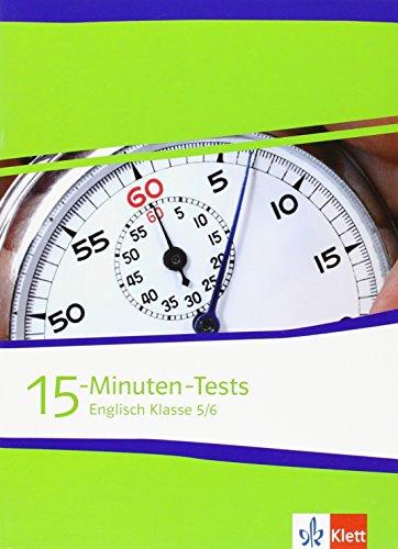 9783125474871: 15-Minuten-Tests Englisch Klasse 5 und 6
