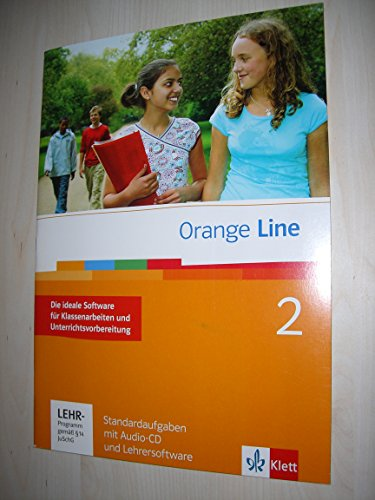 9783125475243: Orange Line. Standardaufgaben mit Lehrersoftware