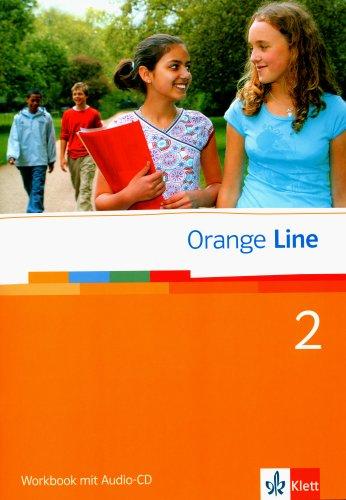 9783125475250: Orange Line 2. Workbook mit CD