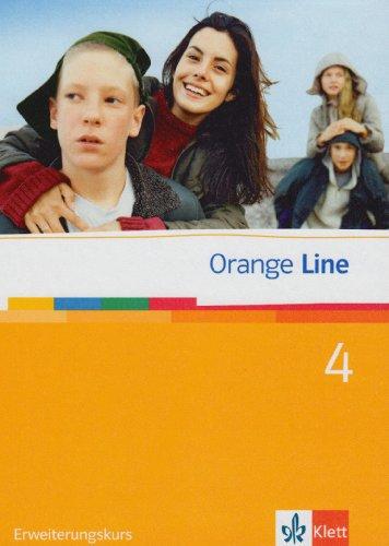9783125475410: Orange Line 4. Erweiterungskurs Klasse 8. Schülerbuch
