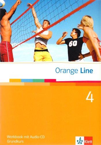 9783125475458: Orange Line 4. Grundkurs Klasse 8. Workbook mit Audio-CD