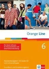 9783125475649: Orange Line. Band 6. Standardaufgaben mit Lehrersoftware. Grundkurs + Erweiterungskurs