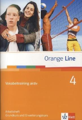 9783125476042: Orange Line. Vokabeltraining aktiv Teil 4 (4. Lehrjahr)