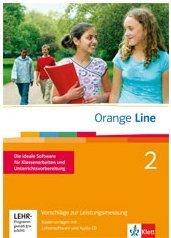 9783125476226: Orange Line Vorschläge zur Leistungsmessung mit Lehrersoftware und Audio-CD Band 2