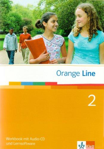9783125476257: Orange Line 2. Workbook mit CD und Lernsoftware