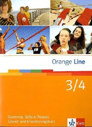 9783125476332: Orange Line. Grammatisches Beiheft zu Band 3 und 4