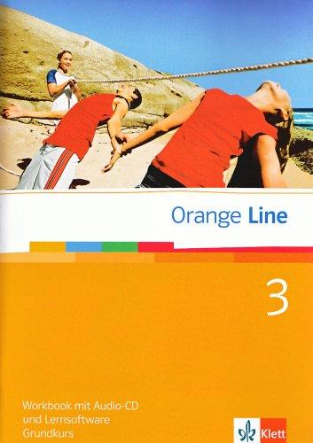 9783125476356: Orange Line 3. Grundkurs. Workbook mit CD und Lernsoftware