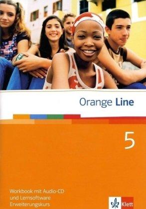 9783125476585: Orange Line. Workbook mit Audio-CD und Lernsoftware Teil 5 (5. Lernjahr). Erweiterungskurs