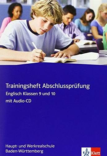 9783125477483: Red Line New - Trainingshefte. Abschlussprüfung Englisch mit CD-ROM 9./10. Klasse. Hauptschule/ Werkrealschule Baden-Württemberg