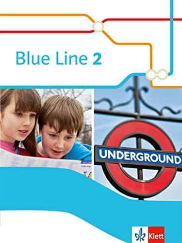 9783125478725: Blue Line 02 Schülerbuch