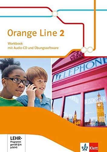 9783125480827: Orange Line 2. Workbook mit CD und Übungssoftware. Klasse 6