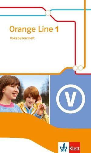 9783125480919: Orange Line IGS 1. Vokabellernheft. Ausgabe 2014