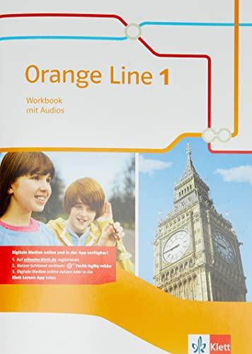 9783125482814: Orange Line 1. Workbook mit Audio-CD. Ausgabe 2014