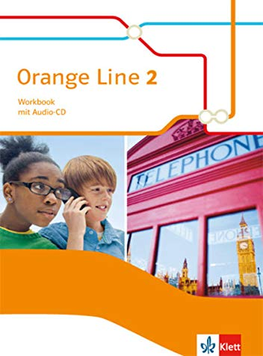 9783125482821: Orange Line 2. Workbook mit Audio-CD