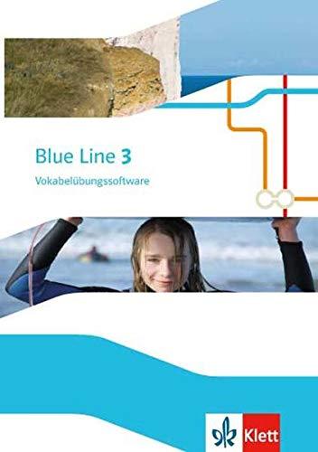 9783125487031: Blue Line 3. Vokabelübungssoftware. Ausgabe 2014