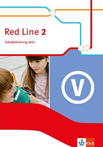 9783125488021: Red Line 2. Vokabeltraining aktiv 6. Schuljahr