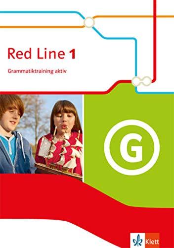 9783125488113: Red Line 1. Grammatiktraining aktiv. Ausgabe 2014