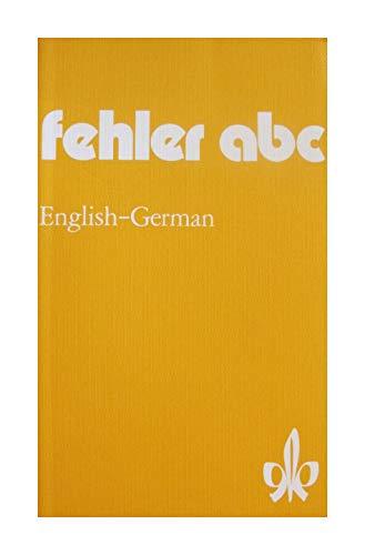 9783125511002: Fehler ABC English-German (German Edition)