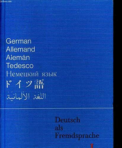9783125541009: Deutsch als Fremdsprache IA. Grundkurs. Ein Unterrichtswerk für Ausländer