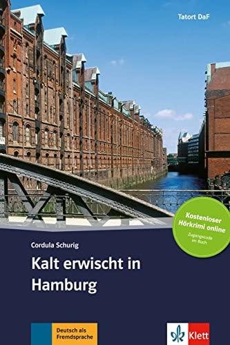 9783125560413: Kalt erwischt in Hamburg - Libro + audio descargable (Colección Tatort DaF)