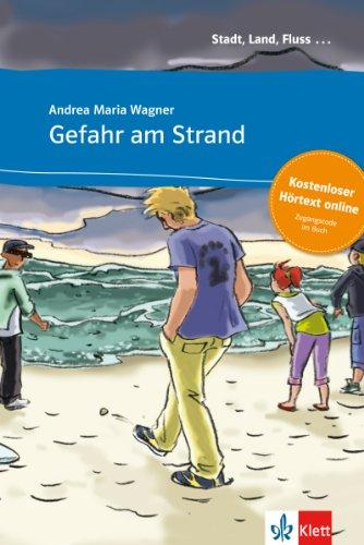 9783125570016: Gefahr am Strand - Buch & CD