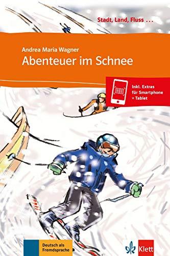 9783125570122: Abenteuer im Schnee - Libro + audio descargable (Colección Stadt, Land, Fluss)