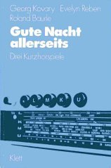 9783125577008: Gute Nacht Allerseits: Textbook with Exercises