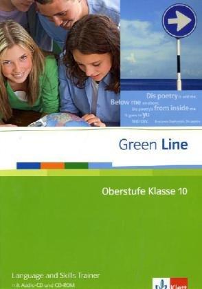 9783125600058: Green Line Oberstufe. Klasse 10. Language and Skills Trainer mit Audio-CD und CD-ROM