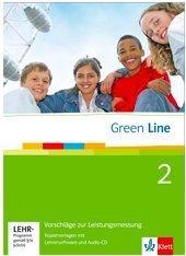 9783125600164: Green Line 2. KV für Klassenarbeiten, Kontrollaufgaben, Leistungsmessung mit Lehrersoftware 6. Klasse