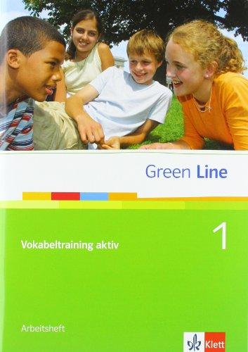 9783125600256: Green Line, Neue Ausgabe für Gymnasien, Bd.1 : Klasse 5, Vokabeltraining aktiv m. CD-ROM