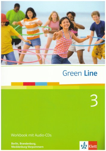 9783125600454: Green Line 3. 7. Klasse. Workbook mit Audio-CD. Be