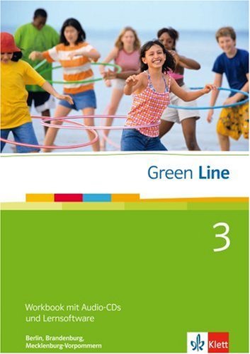 9783125600485: Green Line 3. 7. Klasse. Workbook mit Software. Be